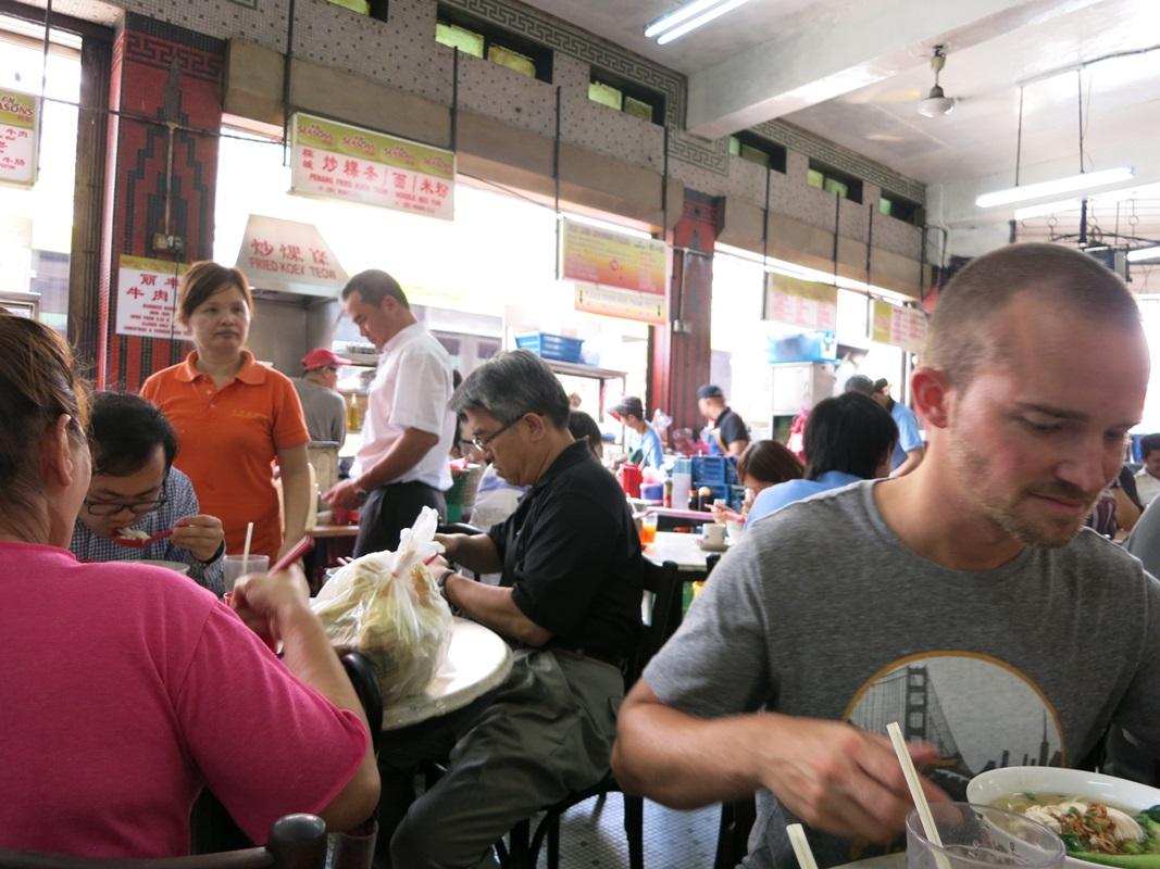 Suppenküche in Kuala Lumpur