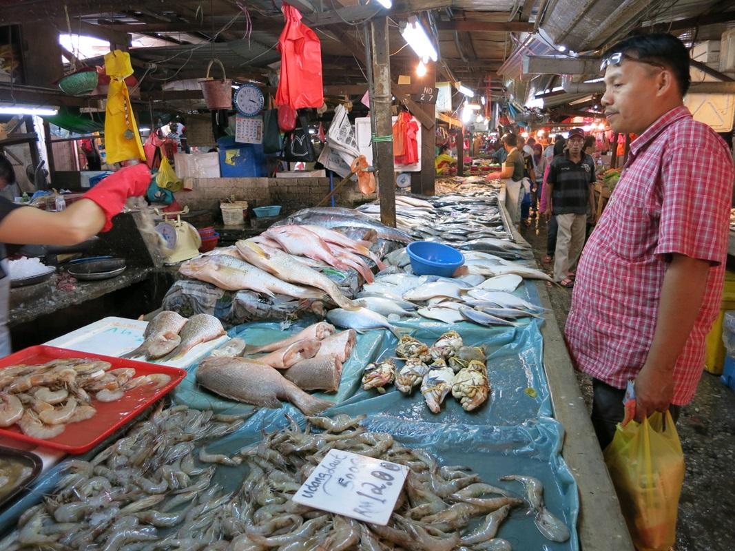 Fisch auf dem Chow Kit Markt