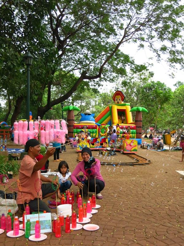 Im Park von Jakarta