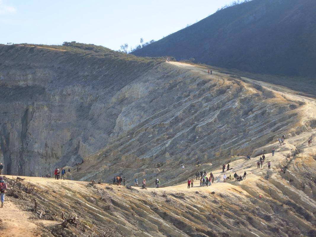 krater ijen vulkan java tour bericht