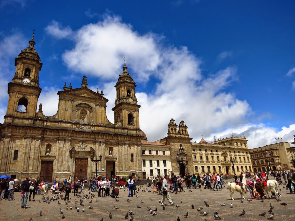 bogota kolumbien plaza de armas erfahrungsbericht