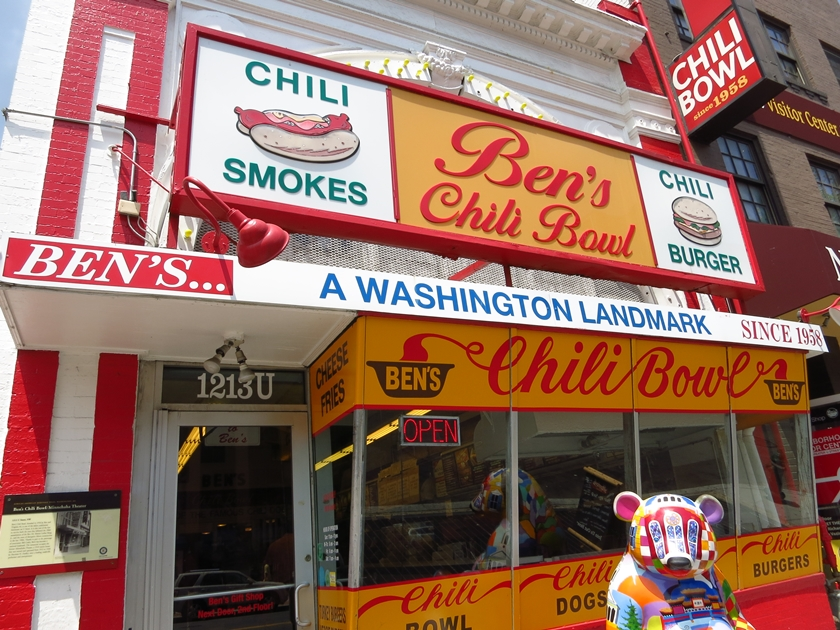 Washington DC Bens Chilli Bowl