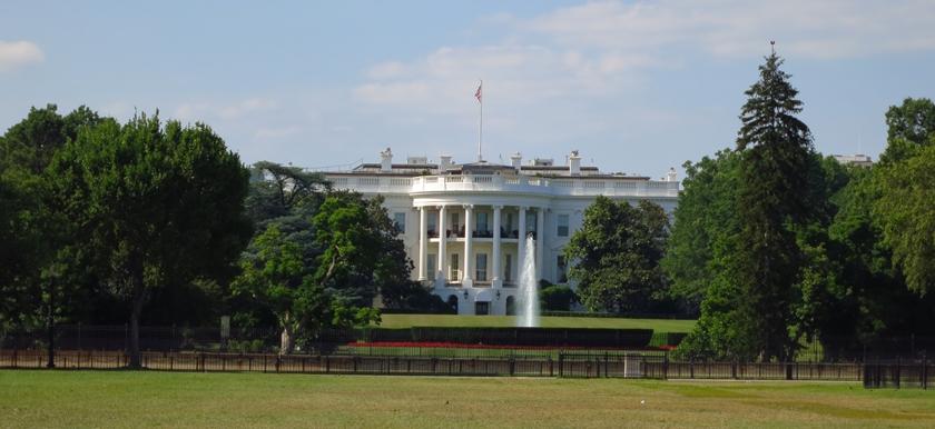 Washington D.C. weißes Haus
