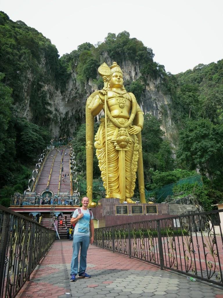 Weltreise Malaysia Batu Caves Kuala Lumpur