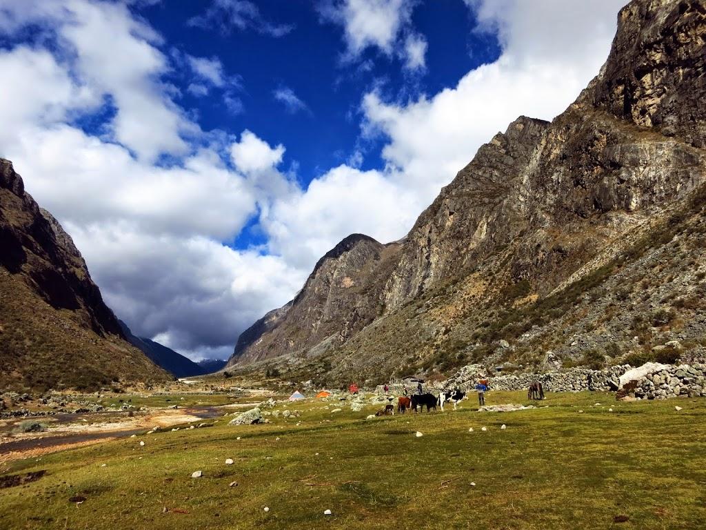 Campingplatz Llamacoral Santa Cruz Trek Peru