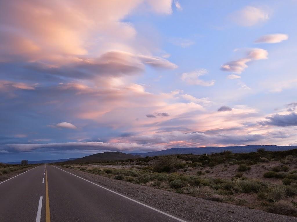 Patagonien endlose Straßen