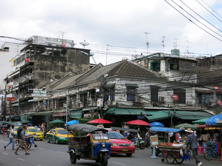 Tuk-Tuk an der Khao San Road