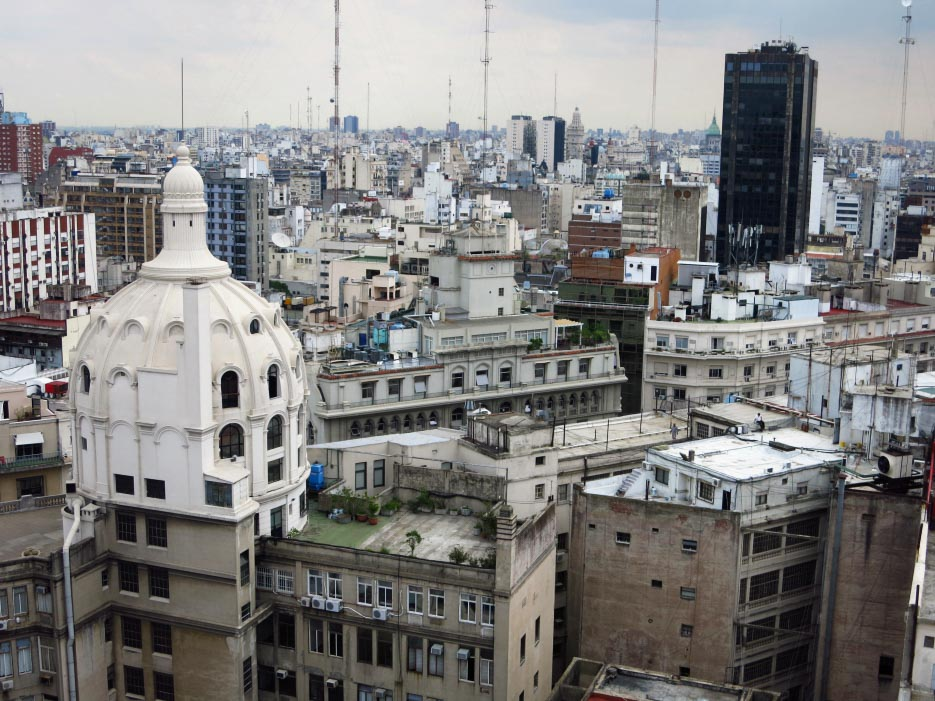 Buenos Aires von oben
