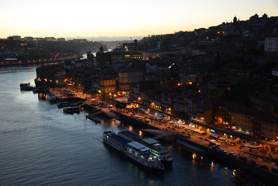 Porto Douro Brücke Aussicht