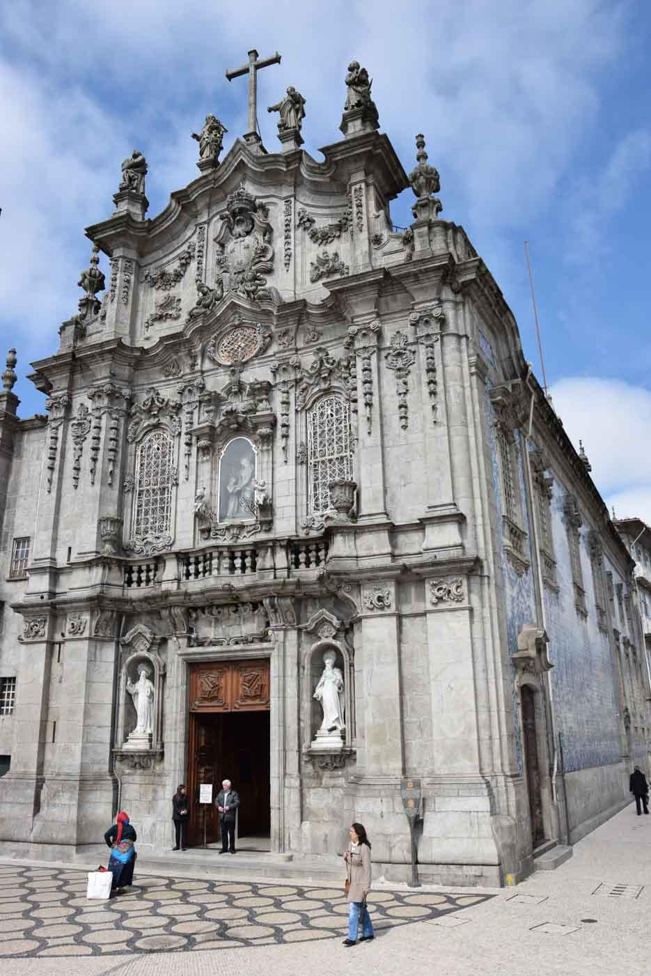 igreja do carmo porto azulejos