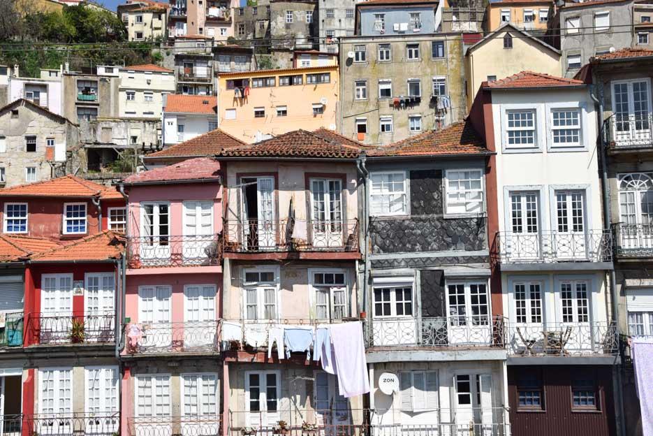 Porto Ribeira Altstadt Architektur