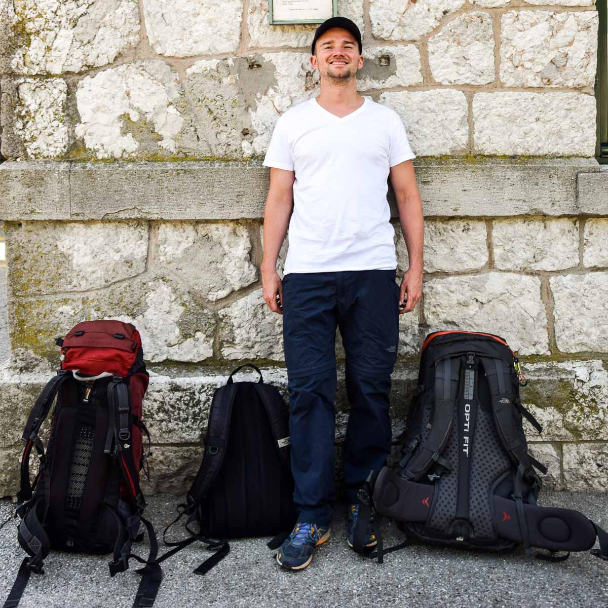 packtipps rucksack weltreise leicht packen