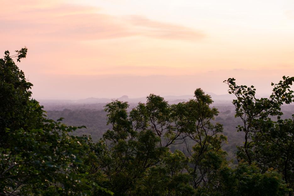 sigiriya_rock sunset sonnenuntergang