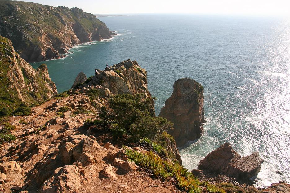 sizilien klippen strand