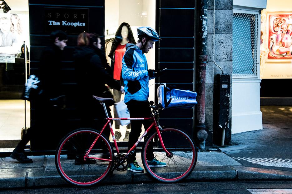 Fahrrad in Paris