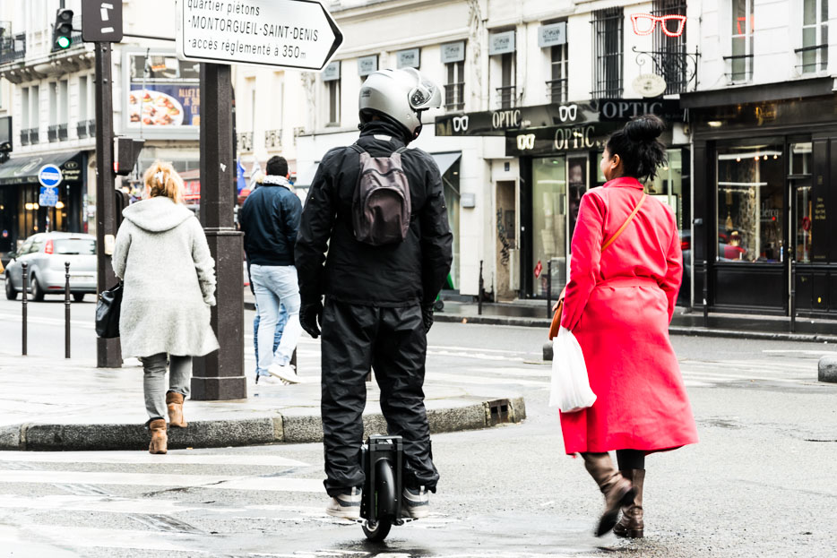 Paris im Winter 2