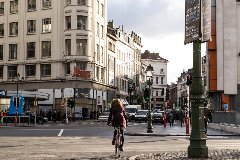 bruessel rad fahren stadt fahrrad