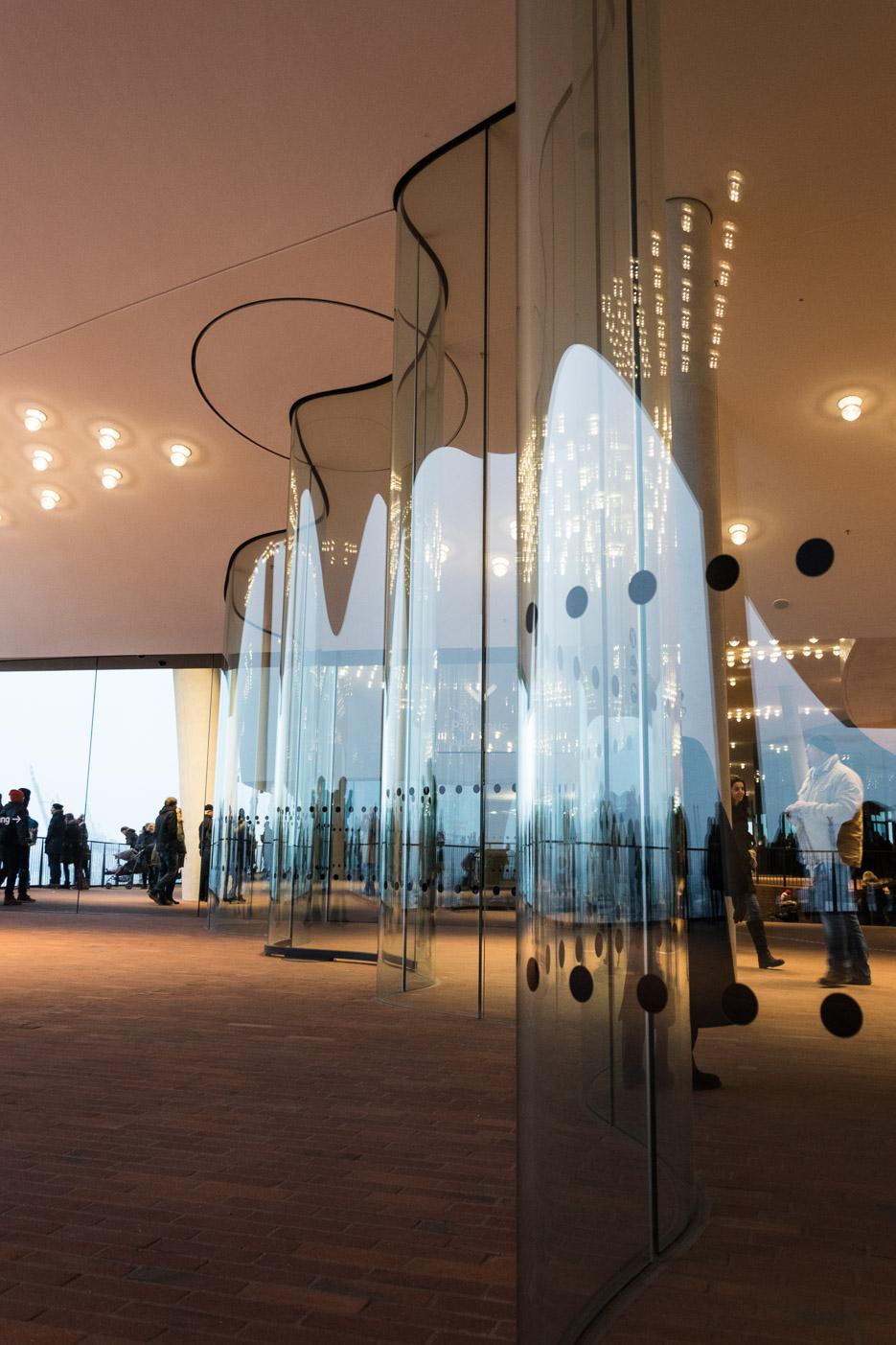 Elbphilharmonie Hamburg Plaza Aussichtsplattform