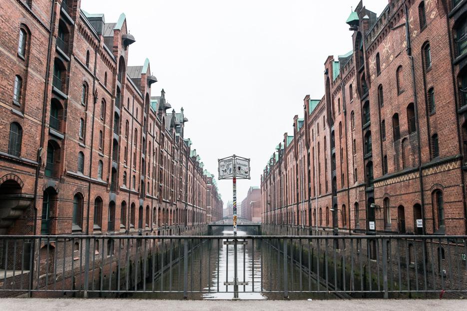 Speicherstadt Hafencity Hamburg foto