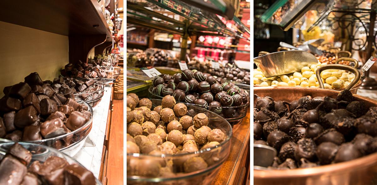 bruessel schokolade praline belgien