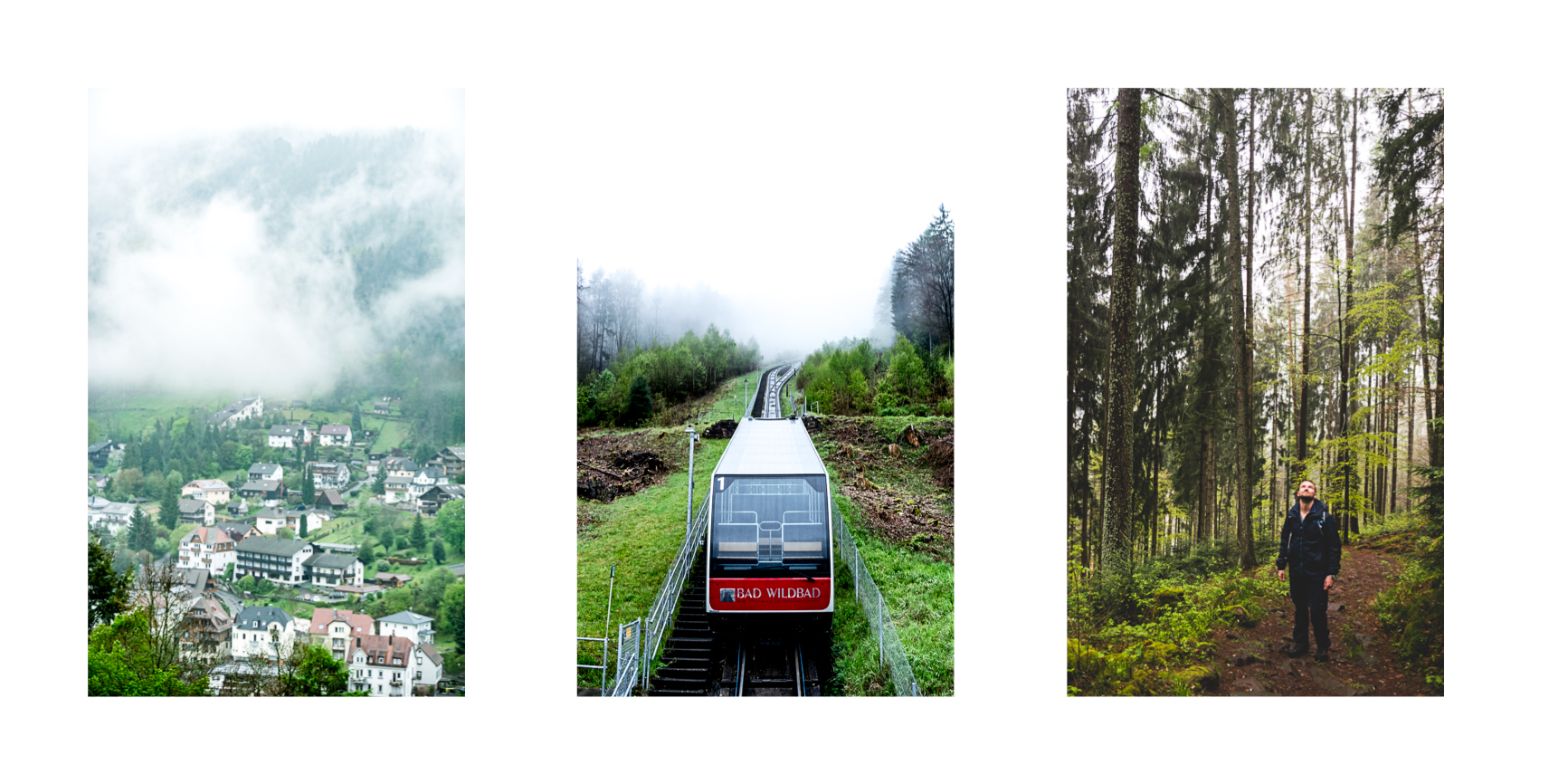 Bad Wildbad Sommerbergbahn Wanderweg