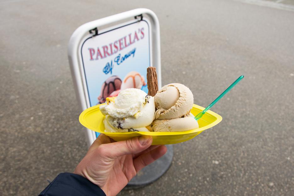 Parisellas ice conwy wales