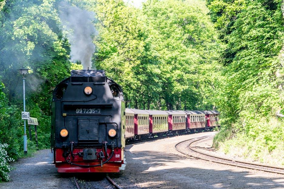 harzer schmalspurbahn brockenbahn dampflok
