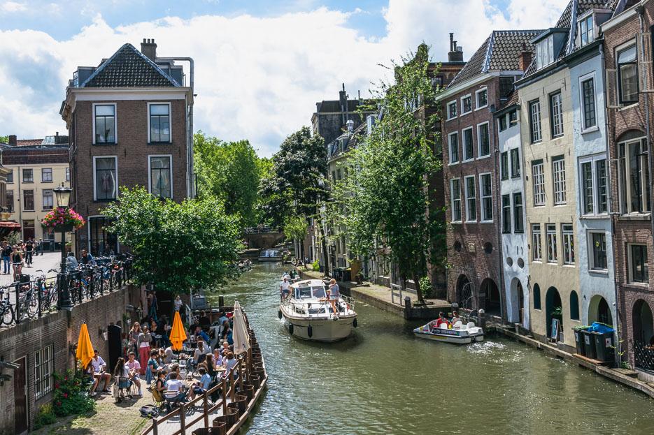 Utrecht oudegracht kajak tretboot mieten