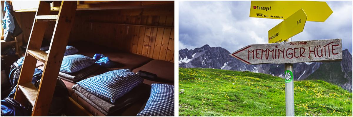 Bettenlager Memminger Hütte