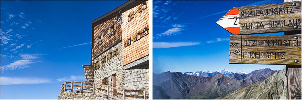 Similaunhütte Alpen