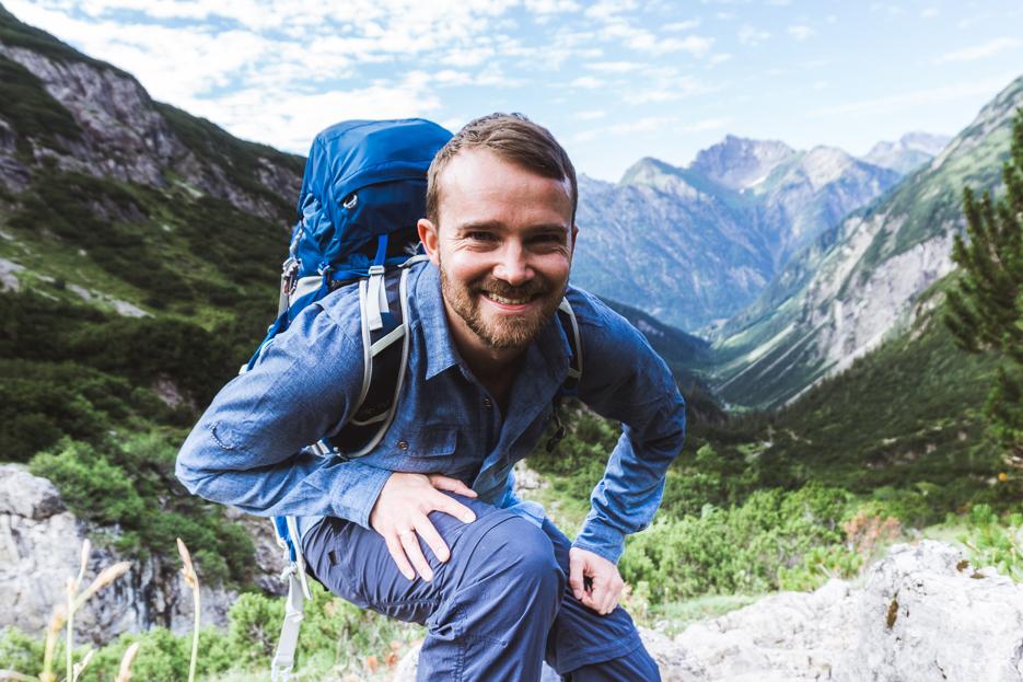 Alpenüberquerung Kleidung