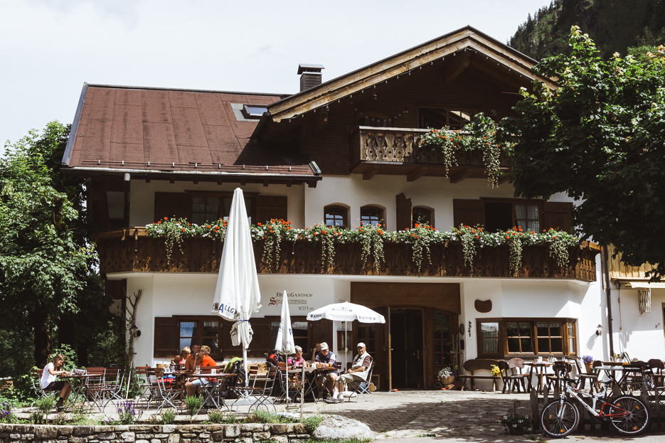 Berggasthof Spielmannsau