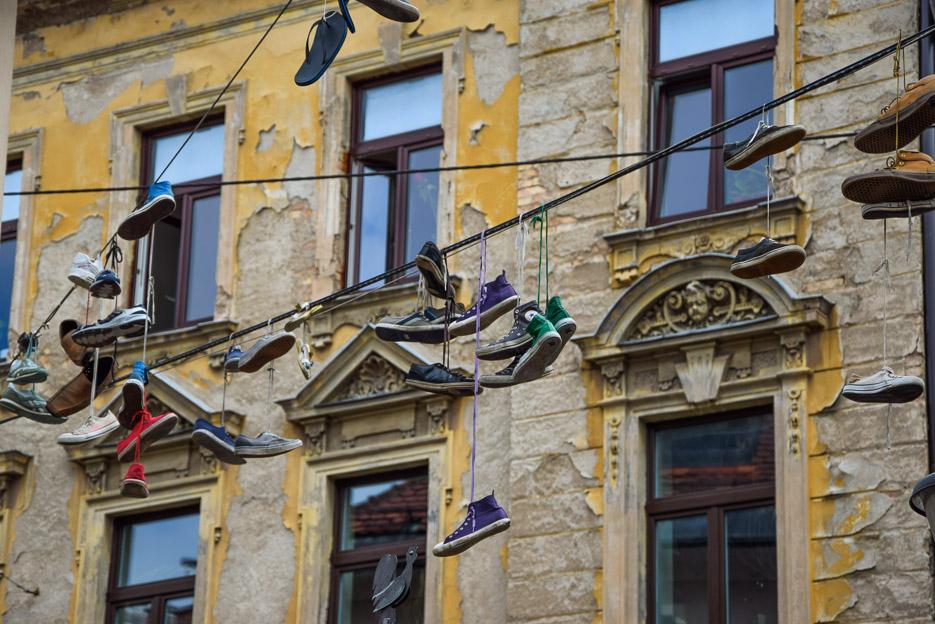 Schuhe Leine Ljubljana