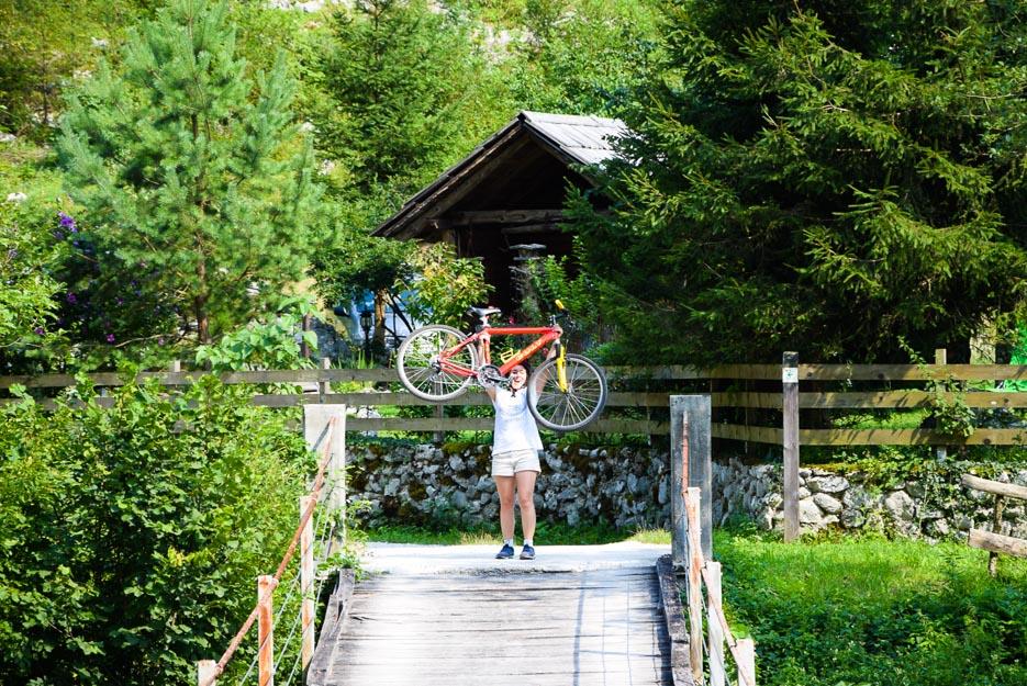 Nachhaltiges Reisen - Slowenien Fahrrad