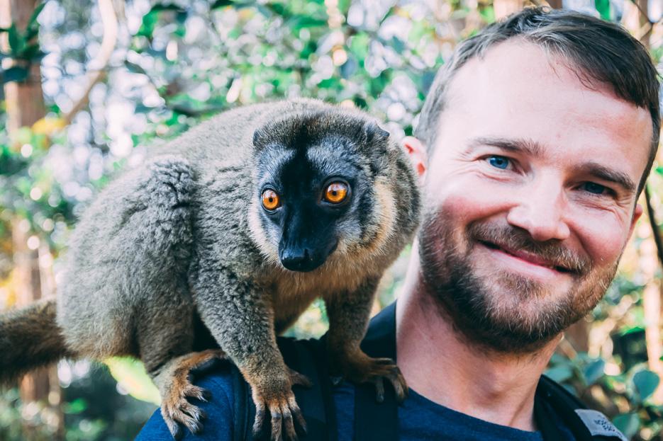 vakona forest andasibe madagaskar lemuren