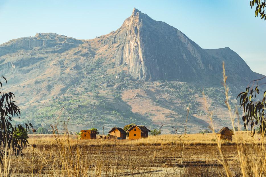Tsaranoro-Valley Dorf Madagaskar