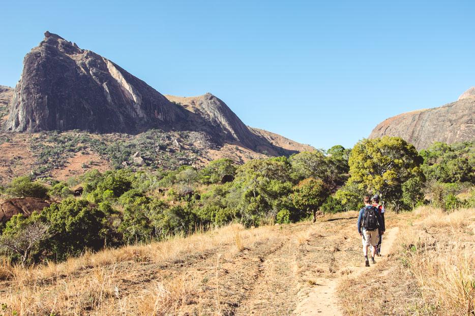 Wandern Madagaskar Tsaranoro Valley