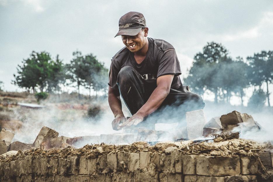 madagaskar merina dorf haus traditionell rundreise