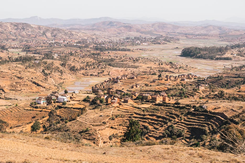madagaskar reisterrassen merina dorf berge rundreise