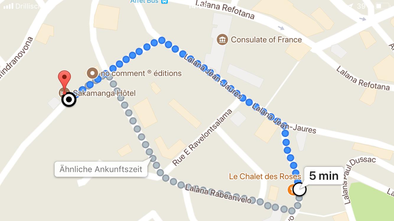 Sakamanga Hotel google maps