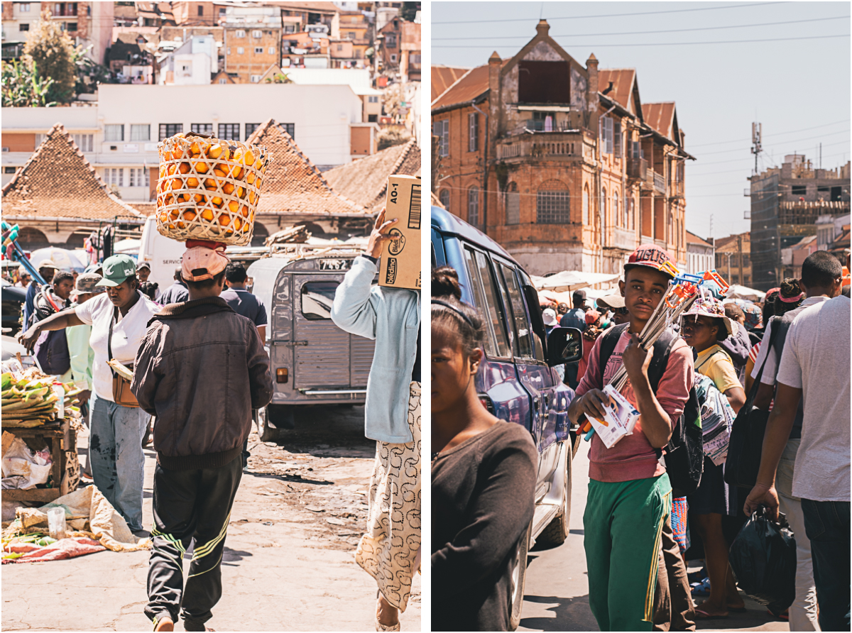 Antananarivo Madagaskar Analakely Market