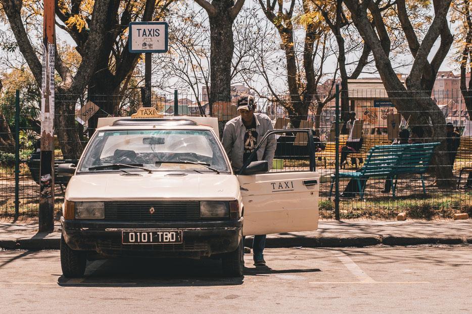 Antananarivo Madagaskar Taxi
