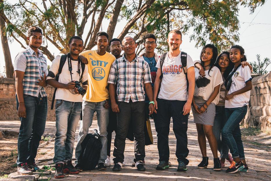 Antananarivo Madagaskar Menschen