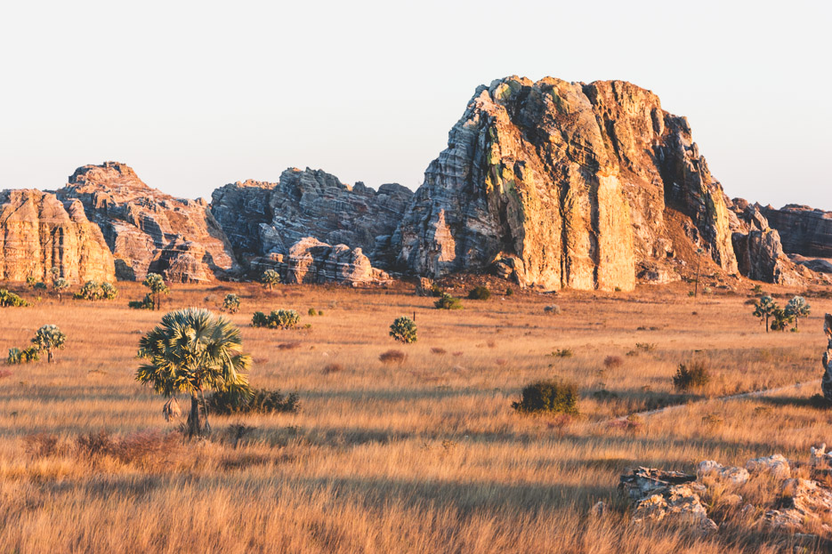 Isalo Madagaskar Sonnenuntergang Wandern Urlaub Erfahrungsbericht