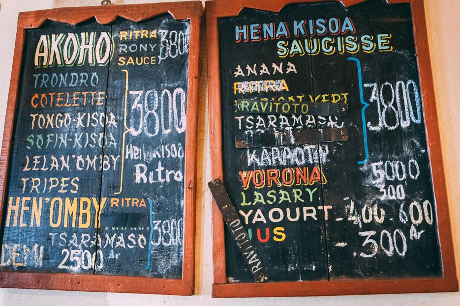 madagaskar hotely restaurant essen erfahrungen tipps
