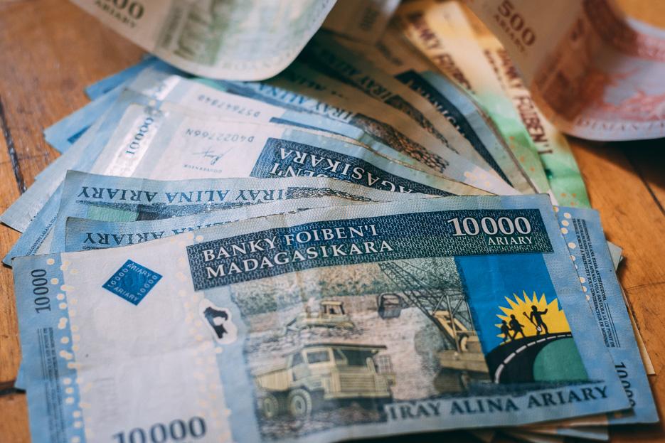 madagaskar währung ariary geld geldautomaten kreditkarte