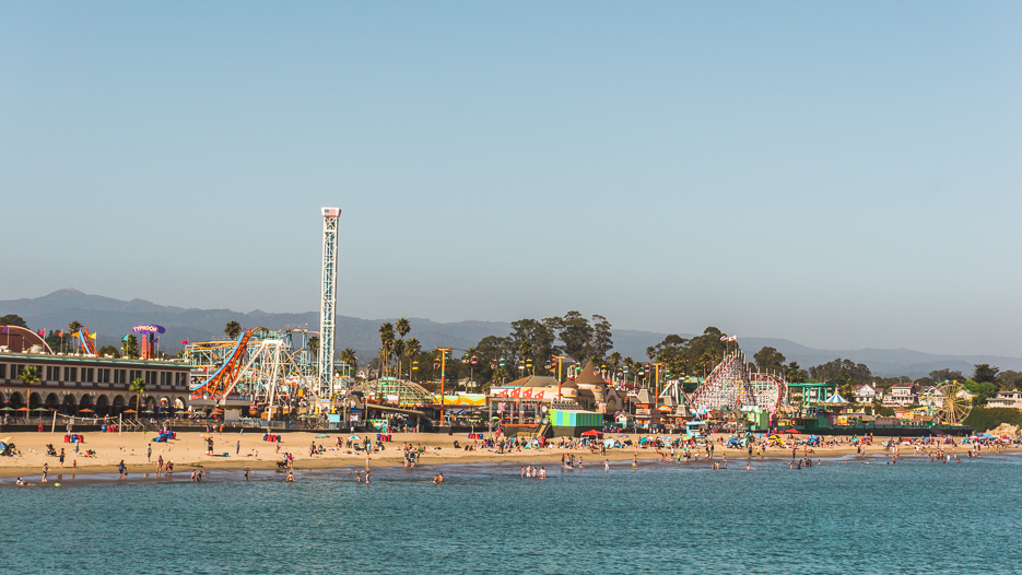 Santa Cruz Kalifornien Boardwalk
