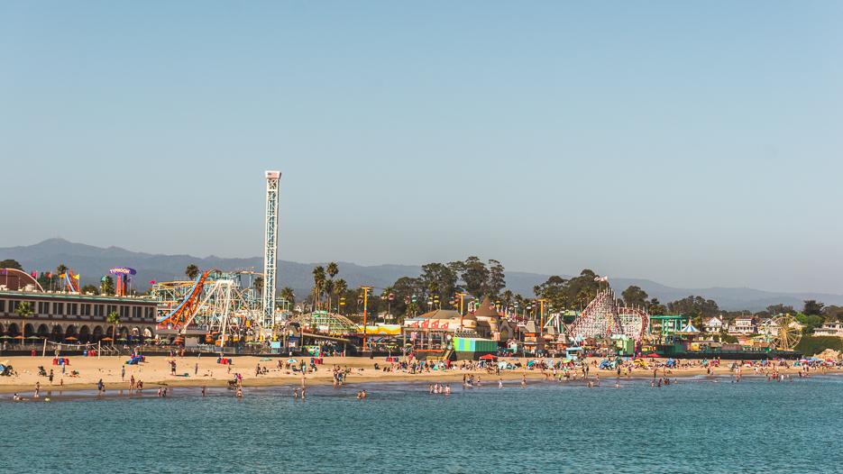 Santa Cruz Kalifornien Boardwalk