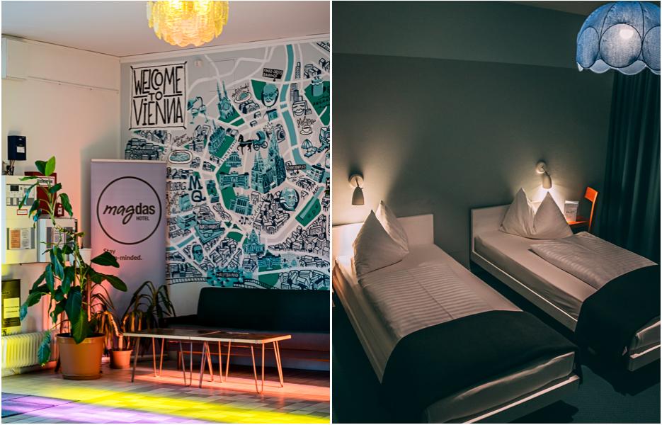 Hotel Magdas Wien Zimmer