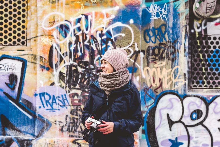 wien fotografie donau grafitti